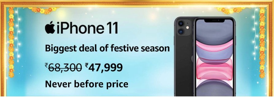 Amazon Great Indian Festival iPhone 11