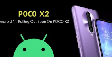 Poco X2 Android 11 Update Release Date