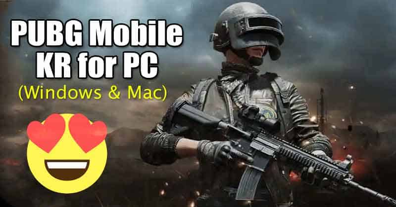 PUBG Mobile KR para PC Descarga gratuita en Windows y MAC