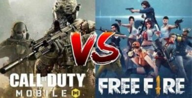 COD Mobile vs free fire