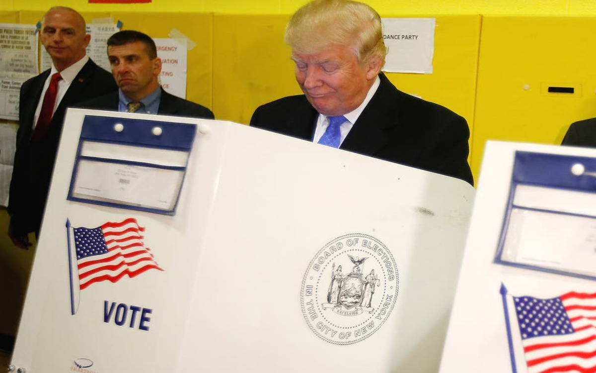 Trump votes started to magically disappear Surprise Ballot Dumps