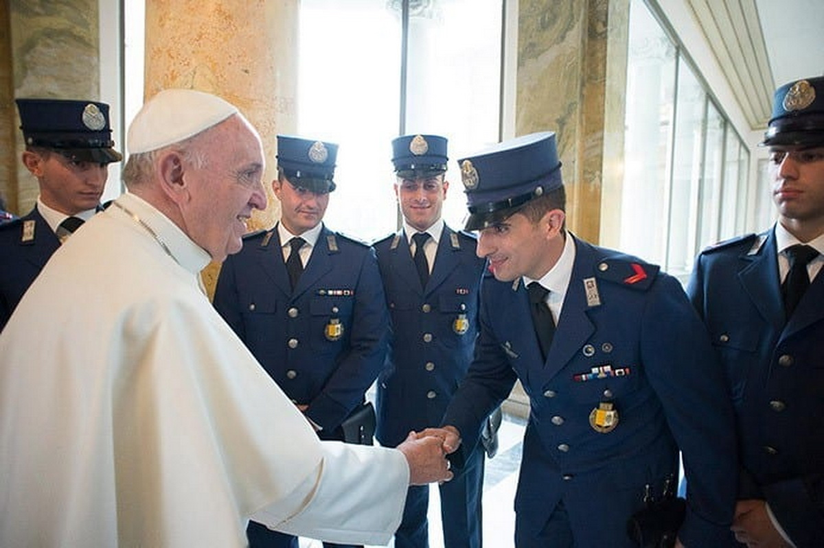 Pope arrested