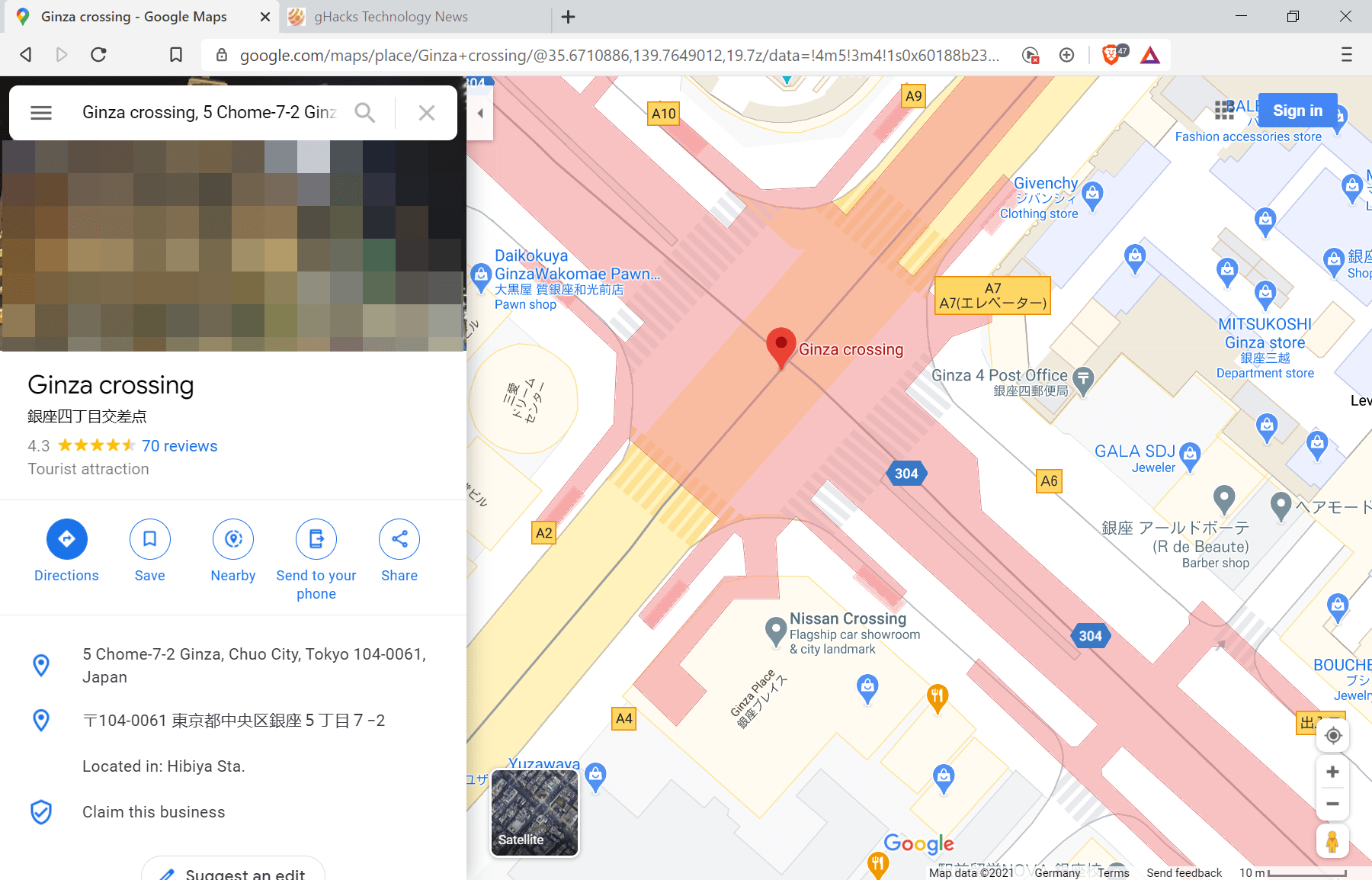 Google is adding crosswalks and other details to Google Maps