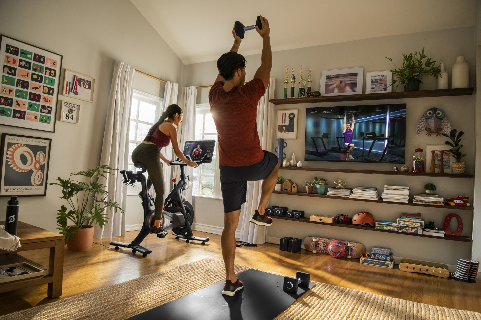 Peloton Connected Virtual Group Training Indoor Bikes se lanzará en Australia a fines de 2021