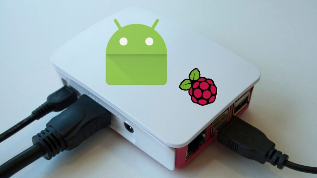 Swipe to allow modifications - how to install android on raspberry pi 4
