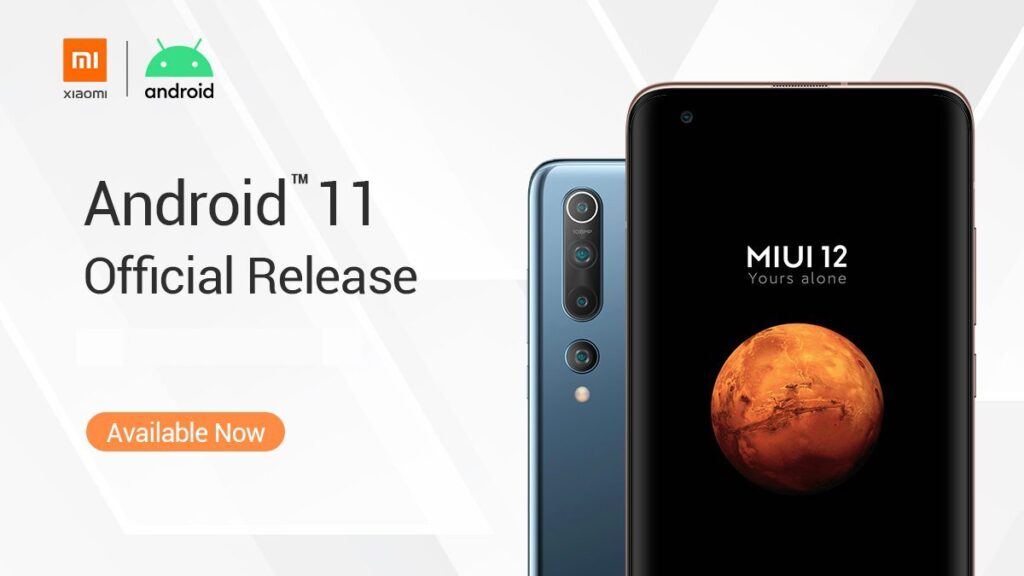 MIUI 12 Android 11 Xiaomi devices